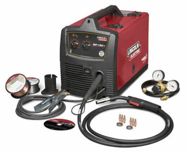 Lincoln Sp-180t Wire Feed MIG Welder 220 Volt 180 Amp