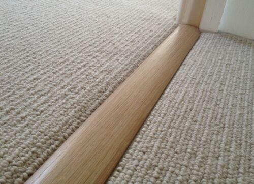 revetements de sols carrelage qualite moquette pour tapis en chene massif t section barre de seuil 1 metre longueur com