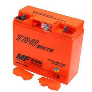 YT19BL-BS BMW 12V Motorcycle Motorbike Battery For BMW ...