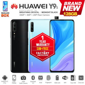 "New Unlocked Huawei Y9S 6.59"" IPS LCD 6GB+128GB Dual SIM 4G Android Smartphone"