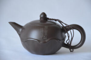 Chinese YiXing ZiSha Teapot with Mark (T045)