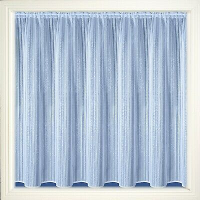 california vertical stripe net curtains white 11 different sizes new design ebay