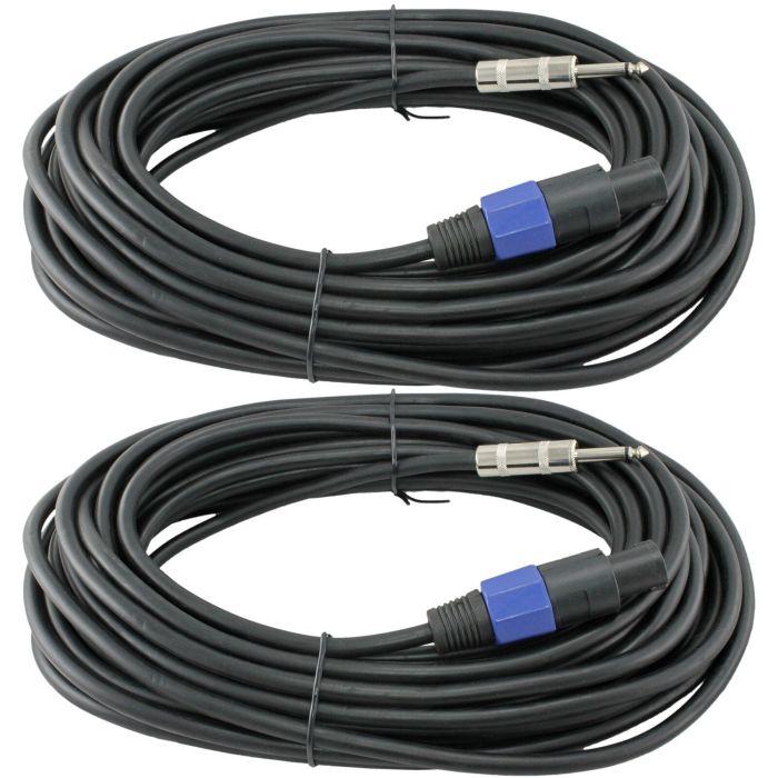 DJ speaker cables