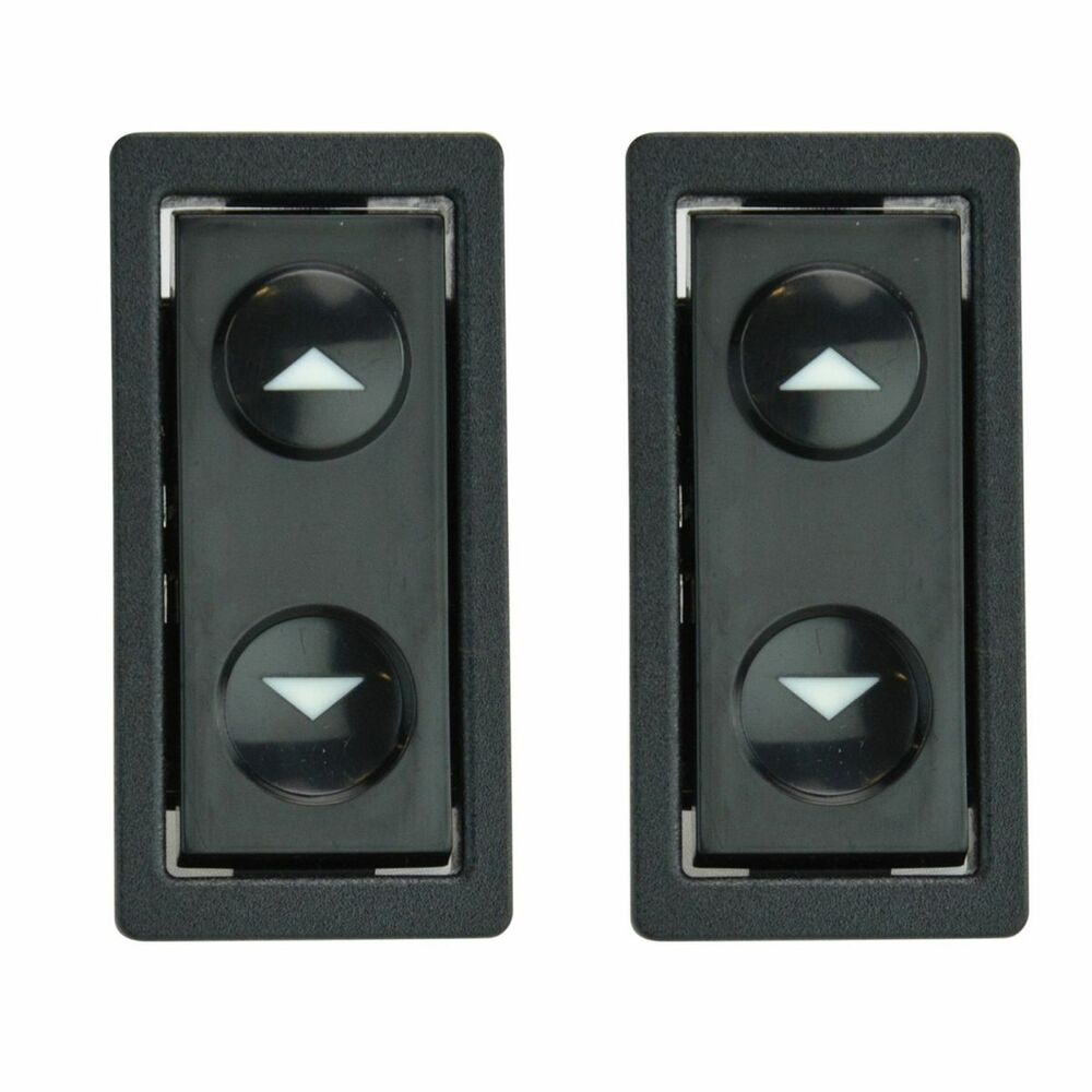 Power Door Lock Switch Button Pair Set For Buick Chevy Gmc