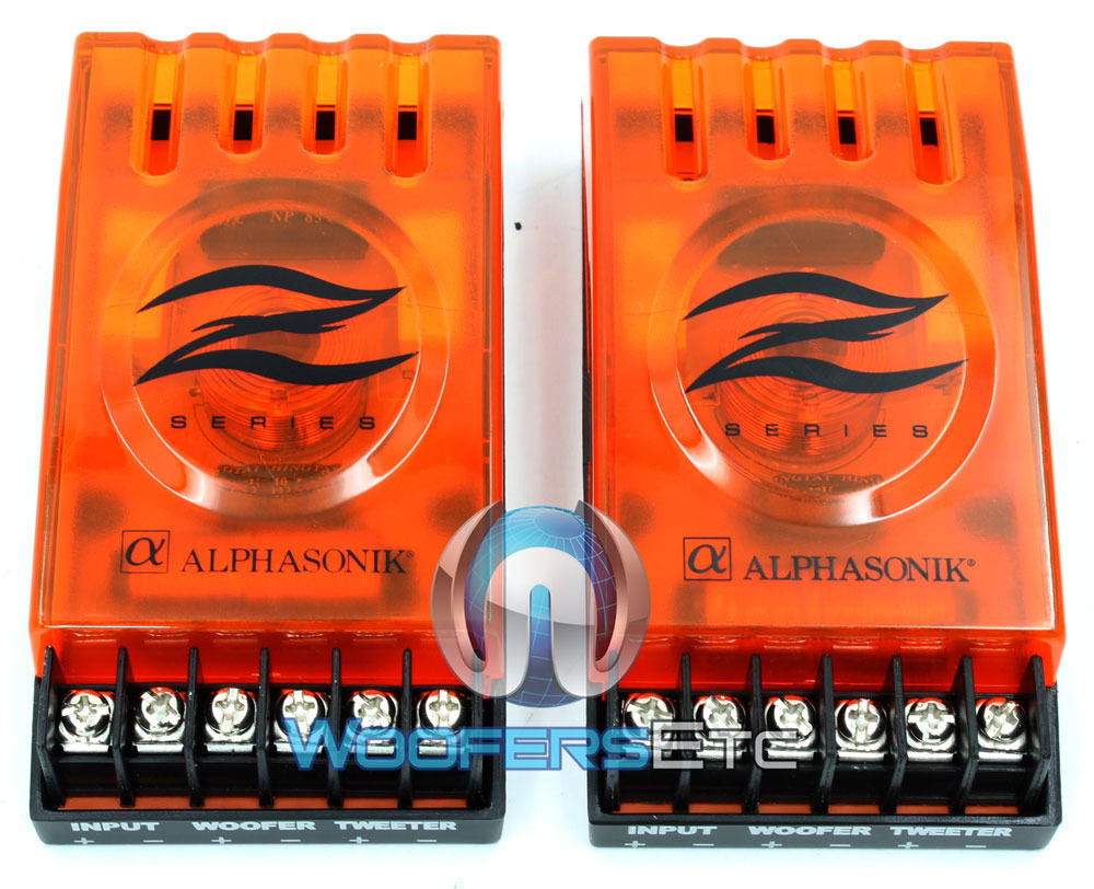 PAIR NEW 2WAY PASSIVE CROSSOVER NETWORK FOR CAR STEREO
