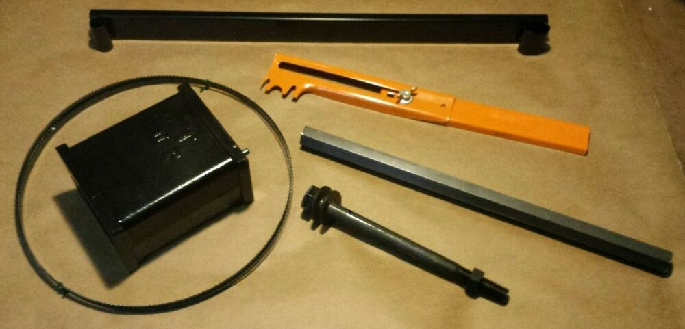 Riser Block Kit For Delta 14 Quot Bandsaw With Hex Post Interchanges With Delta 894 Ebay