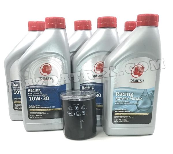 Mazda RX7 Oil Change Kit with Idemitsu 10-30, Filter ...