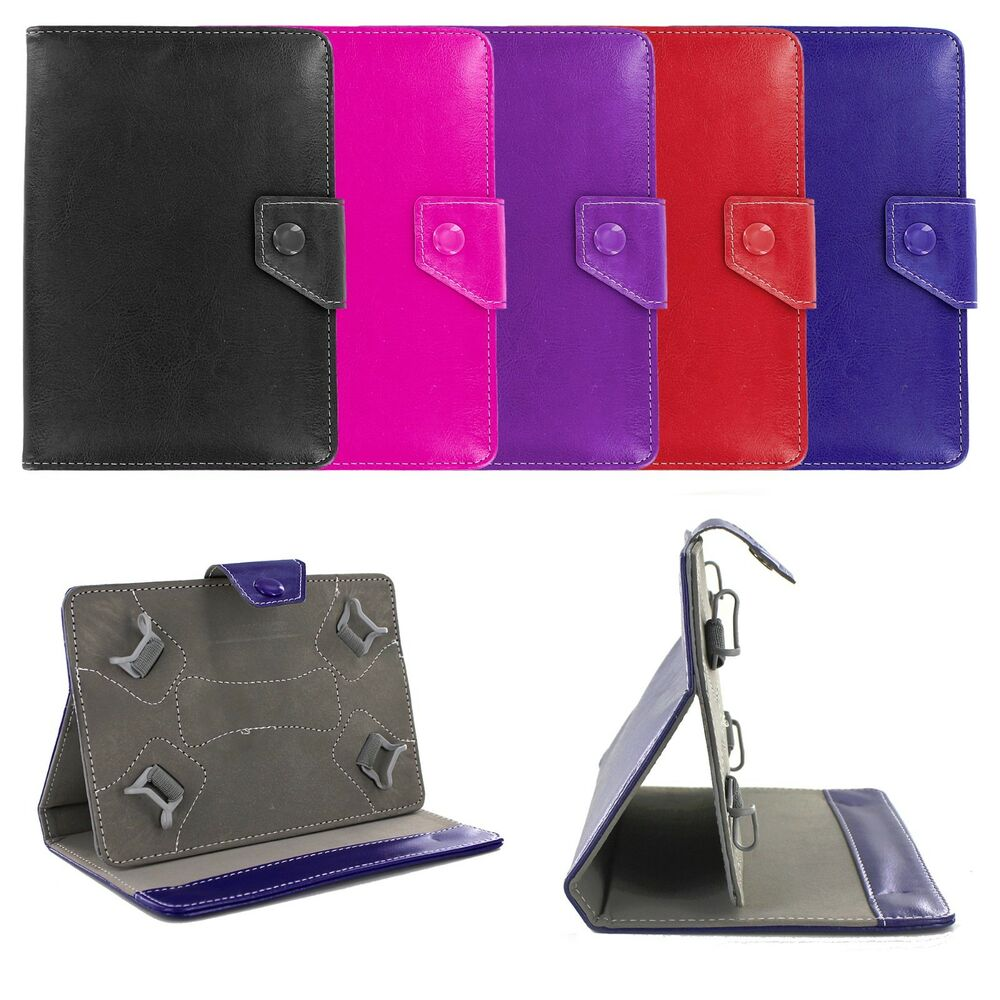 Premium Universal 7 Folio Leather Case Cover Skin W Stand For 7 Inch Tablet EBay