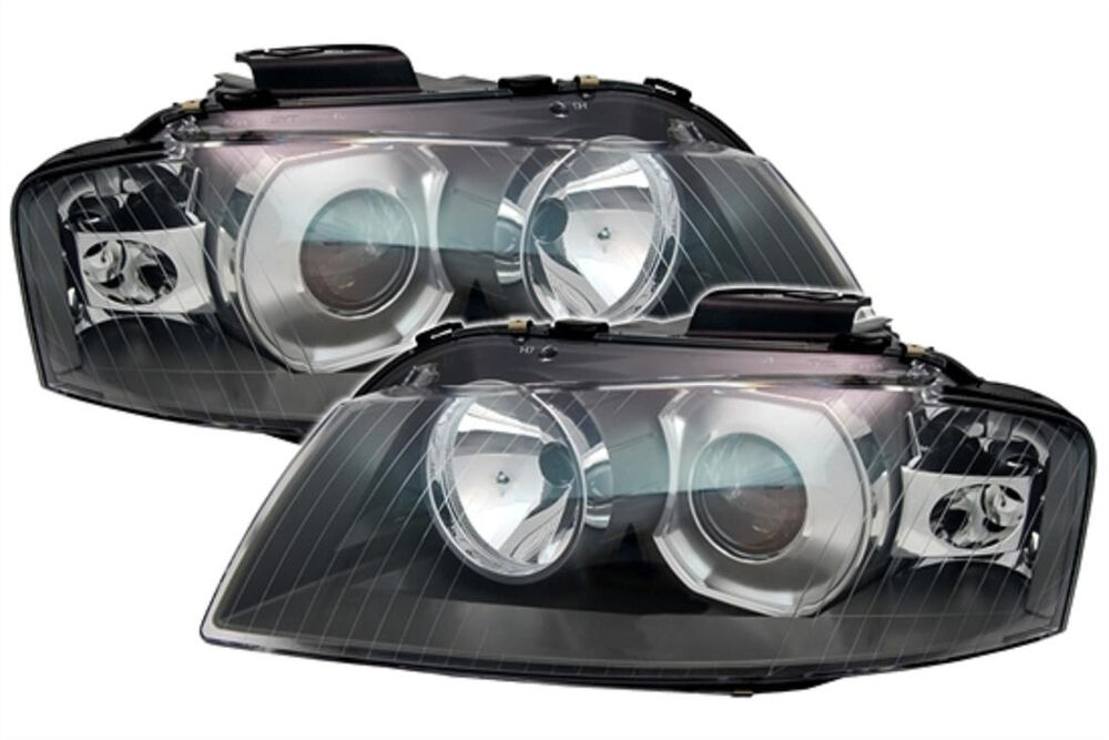 XENON H7 SET D2S Headlight Set Front Left Right Lights For