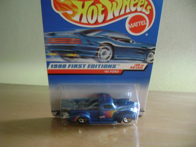 HOT WHEELS 1998 FIRST EDITIONS 40 FORD 4040 654 EBay