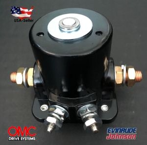 NEW STARTER SOLENOID SWITCH RELAY For Johnson OMC Evinrude