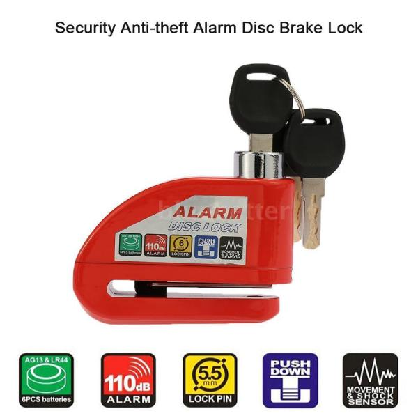 Motorcycle Scooter Bicycle Anti-theft Disc Brake Lock ...