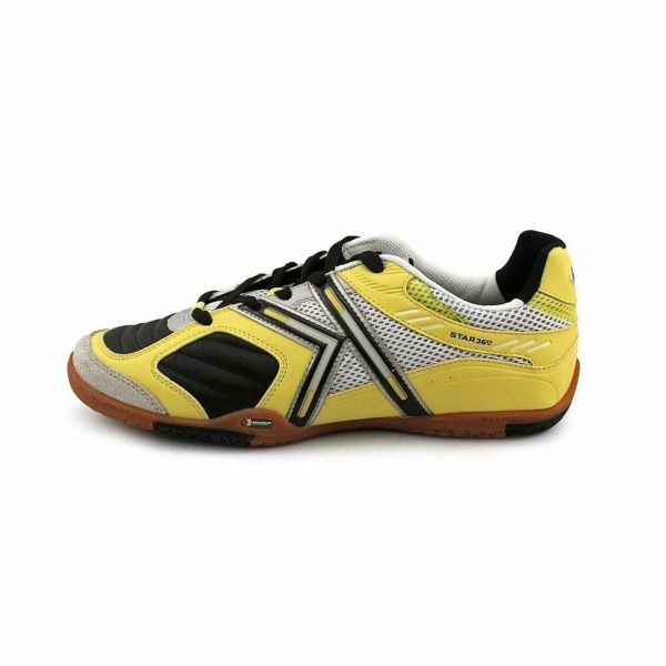 Kelme Star 360 Michelin Mens Leather Indoor Soccer Shoes ...