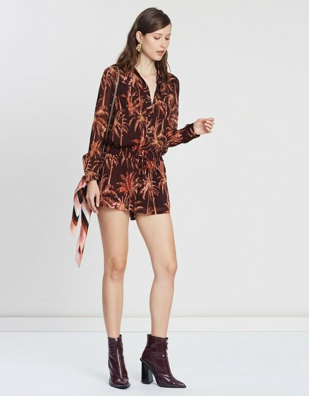 MAISON SCOTCH ALL-IN-ONE LINED PLAYSUIT SIZE 8 or S ~ RRP $279.95