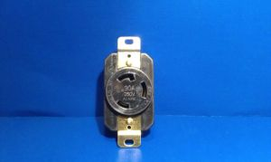 Replacement Wall Receptacle 30 Amp 250 Volt Twist Lock 3