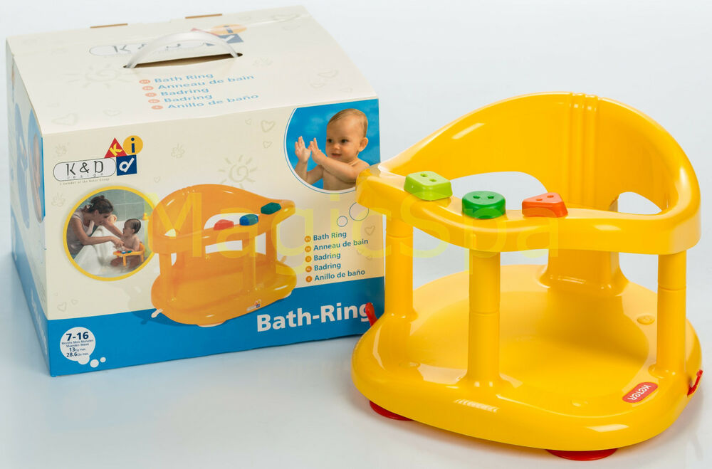 Infant Baby Bath Tub Ring Seat KETER Yellow SHIPPING FROM USA New In BOX EBay