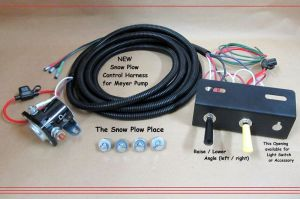 Snow Plow Control Wire Harness ( Raise, Lower, Angle ) for