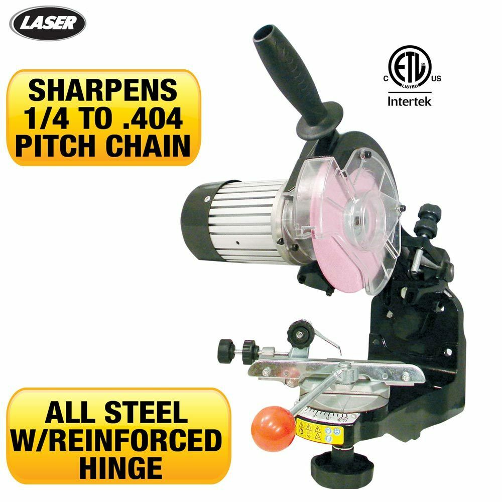 New Chainsaw Grinder Bench Mounted Sharpener Does All