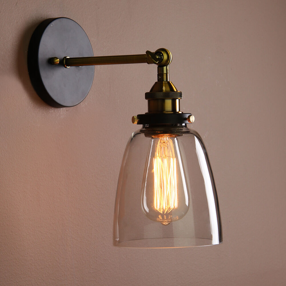 Vintage Industrial Country Style Wall Sconce Light Wall ... on Vintage Wall Sconces id=80179