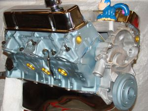 461 Pontiac High Perf balanced crate engine with cast