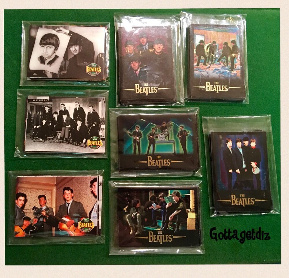 The Beatles Collection Trading Cards 1993 1996 Apple Corp Sports Time 80pcs EBay