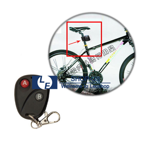 New Cycling Bicycle Bike 9V Alarm Anti-theft Lock With ...