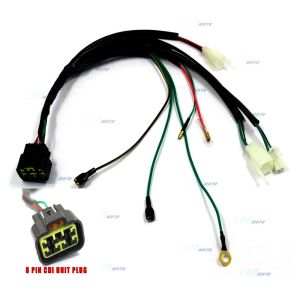 8 Pin CDI Unit Plug Kick Start Wiring Wire Harness Loom for Lifan 150CC ZS155cc 8291985523284 | eBay