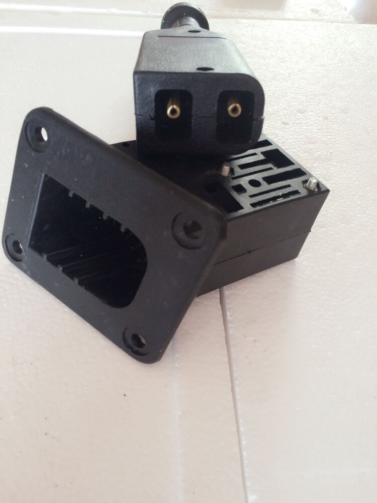 Ezgo Golf Cart 36v Powerwise Charger Receptacle Handle