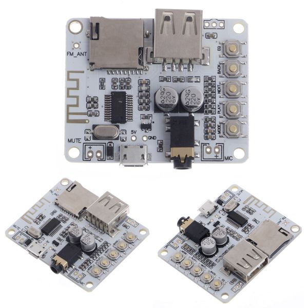 Bluetooth Audio Receiver Module with USB TF Card Preamp ...