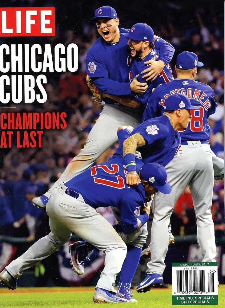 Life Magazine 2016 Baseball MLB World Series Champions At