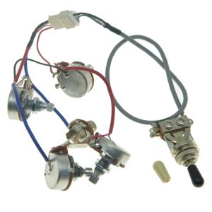 Genuine LP Pickups Wiring Harness with Full Size Pots for Epiphone Les Paul | eBay