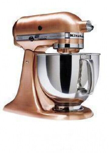 KitchenAid Ksm152pscp All Brushed Metal Copper Tilt