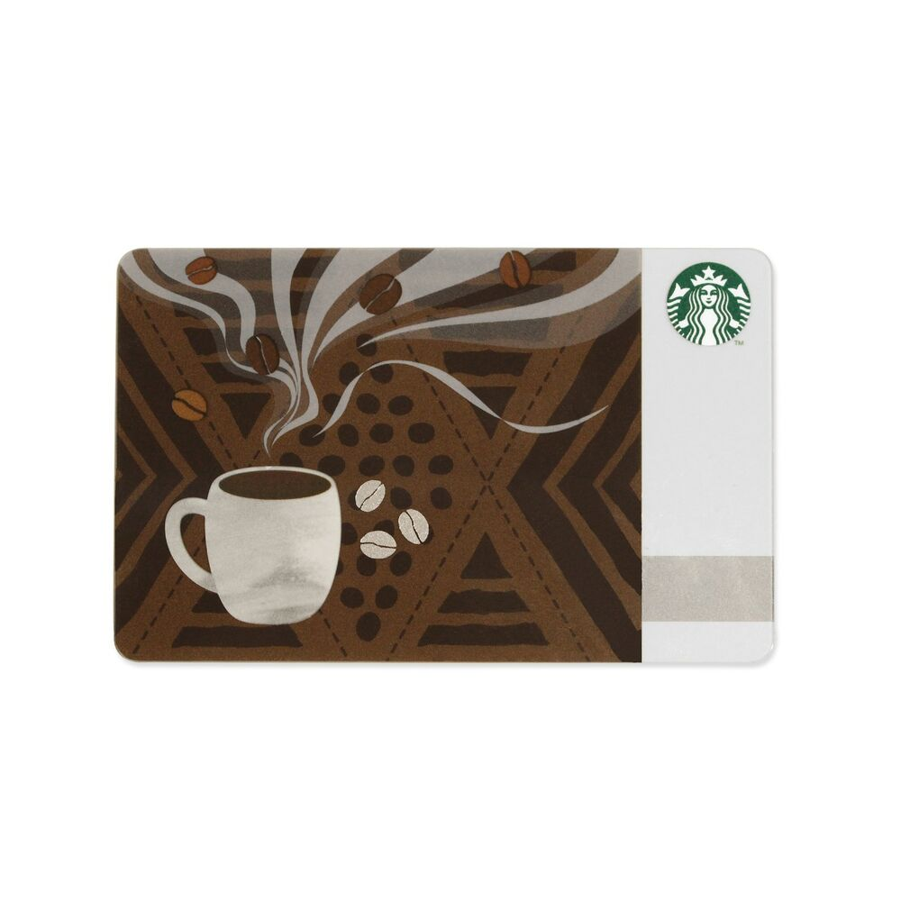 Starbucks Coffee Gift Card Japan Aroma 2015 June EBay