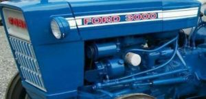 FORD TRACTOR 3000 175 CID DIESEL ENGINE OVERHAUL KIT IN