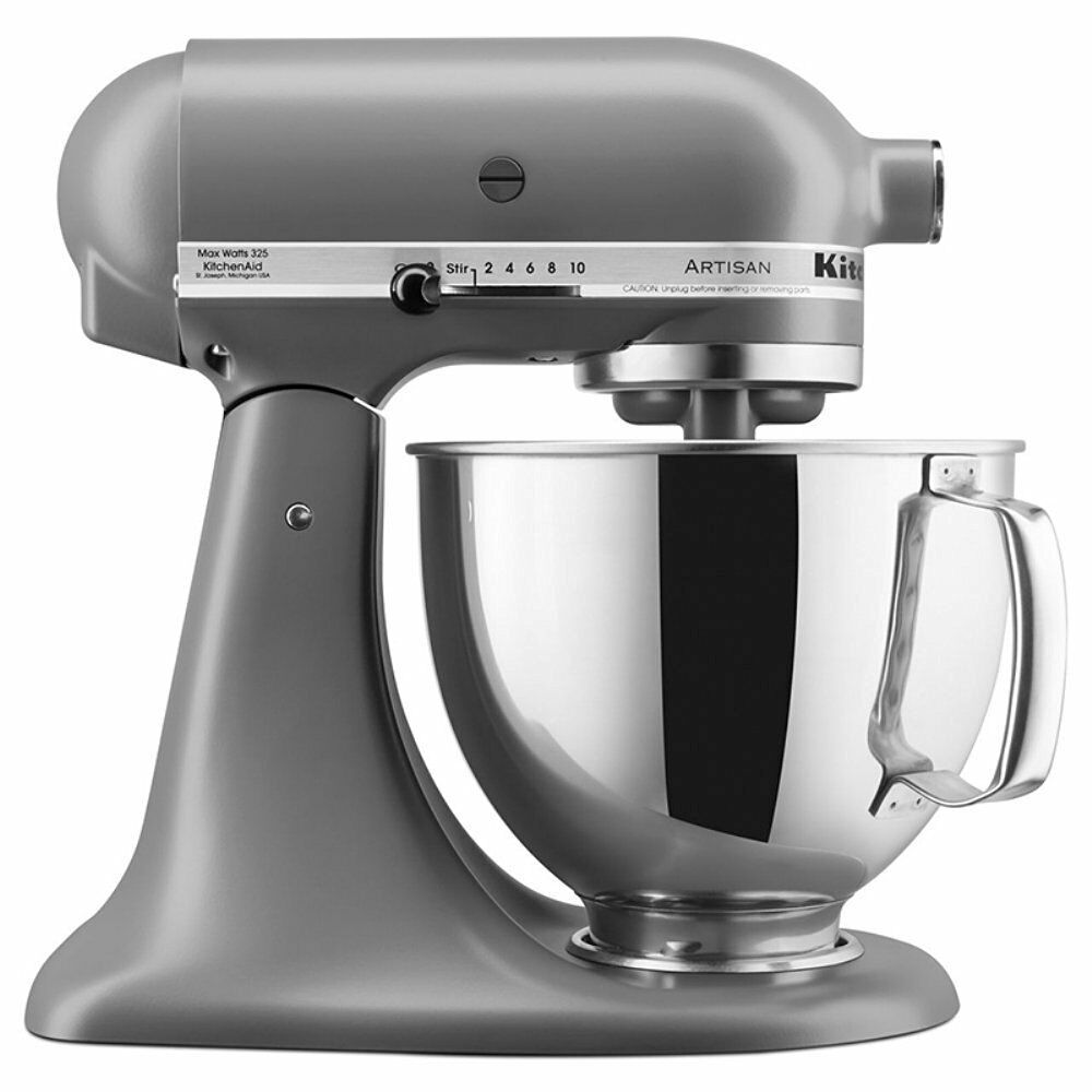 New KitchenAid Stand Mixer Tilt 5 QT KSM150PSFG Metal