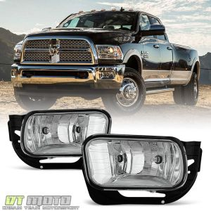 20092012 Dodge Ram 1500 1018 2500 3500 Bumper Fog Lights