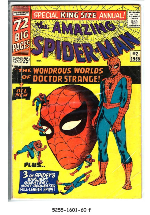 AMAZING SPIDER-MAN King Size Annual #2 © 1965 Marvel | eBay