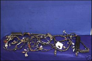 87 88 FORD MUSTANG BODY WIRING HARNESS 50 302 ENGINE GT