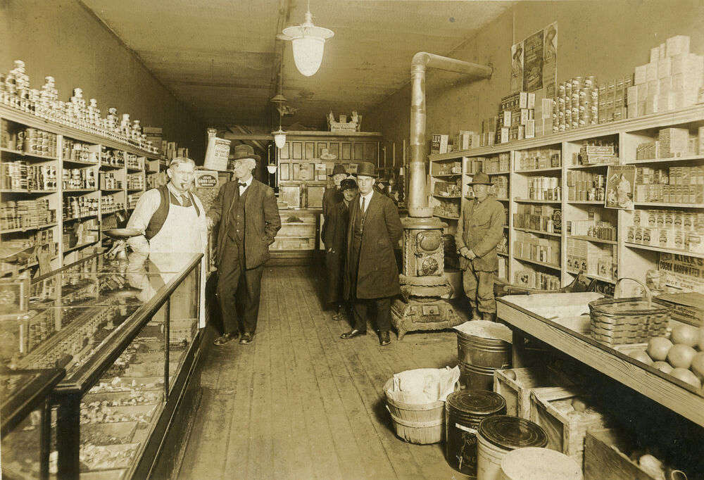 ANTIQUE OLD INDIANAPOLIS STAR NEWSPAPER GENERAL STORE ADVERTISING DISPLAY PHOTO EBay