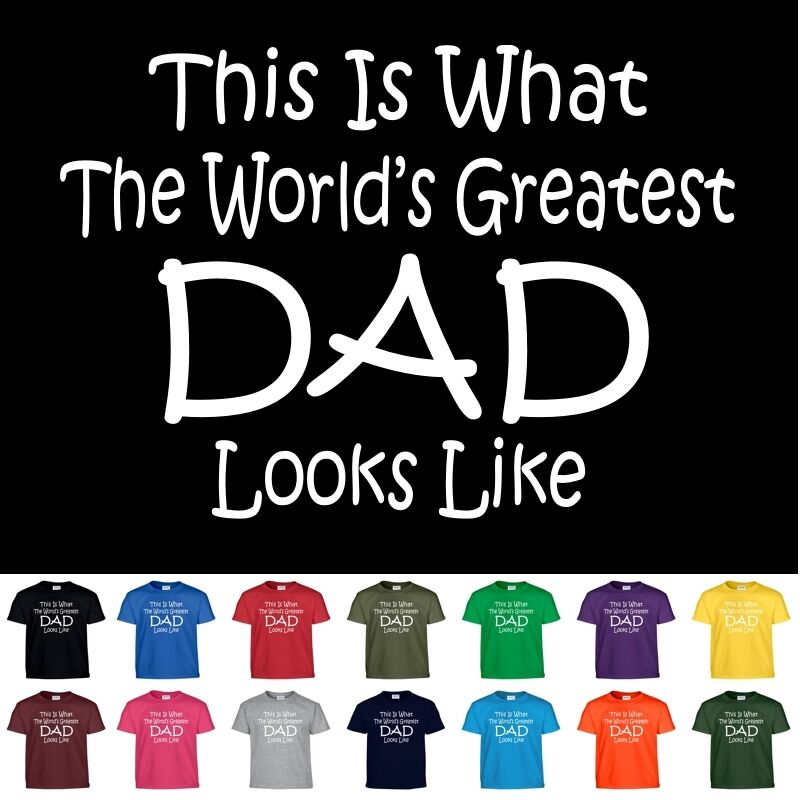 Worlds Greatest DAD Fathers Day Birthday Christmas Gift