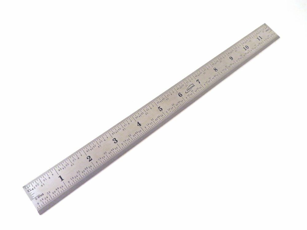 Igaging 12 Stainless Steel Machinist 4r Ruler Rule Scale