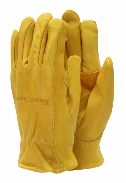 TOWN & COUNTRY ELITE SUPERIOR LEATHER GARDENING GLOVES ...