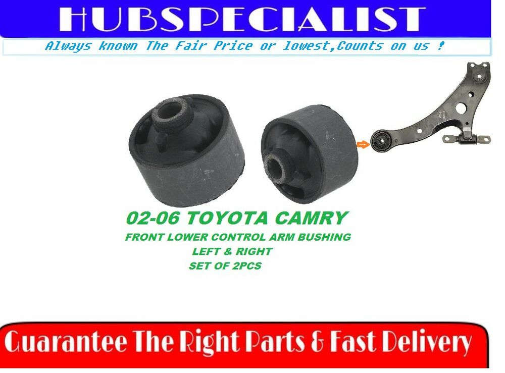 For Toyota Camry 2002 2006 Front Lower Control Arm Bushing