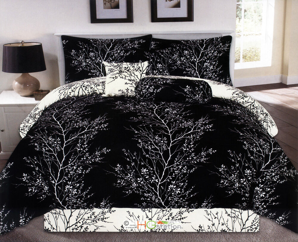 7Pc Nature Dendron Branches Silhouette Reversible