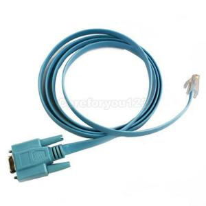 Of Console Cable Router DB9 To RJ45 Cisco Serial 5FT C   eBay
