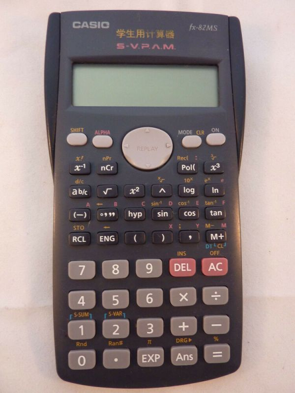 Casio FX-82MS Business/Scientific Calculator LN with ...