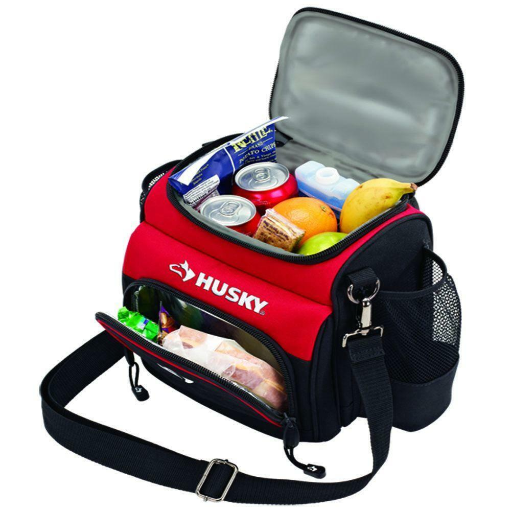 Husky 9 In Lunch Cooler Hot Cold Food Insulated Gym Work Picnic Travel Tote Bag EBay