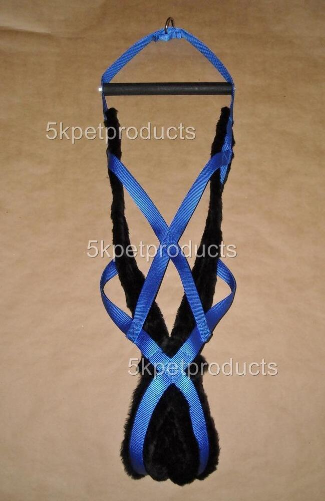 Dog Weight Pulling Harness Padded 10 Sizes Blue Made In