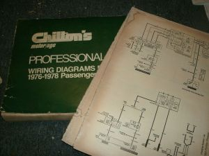 1976 FORD MUSTANG II AND COBRA II WIRING DIAGRAMS SHEETS