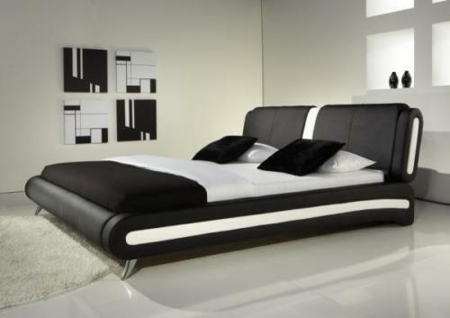 Ci 4ft6 Double 5ft King Size Bed Modern Leather Beds Memory Foam Mattress Ebay